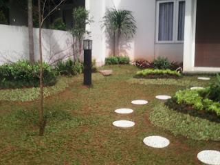 design taman rumah