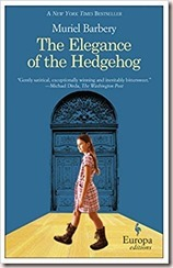 The elegance of the hedgehog muriel barbery book cover