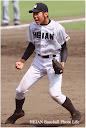 最後の打者を三振に打ち取った田村投手