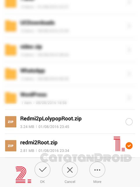 Cara Mudah Root Hape Xiaomi Rom Original Miui Tanpa PC, Tested Miui 7.5.2 Redmi 2