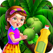 Cooking Oil Factory Chef Mania - Game for Kids