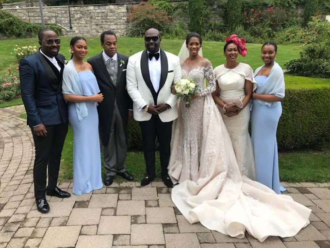 Donald Duke's daughter weds commissioner for finance in Switzerland