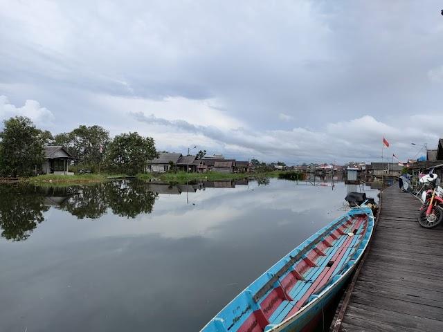 Sejumlah Desa di Bantaran Sungai Kusan Tanah Bumbu Terendam Air
