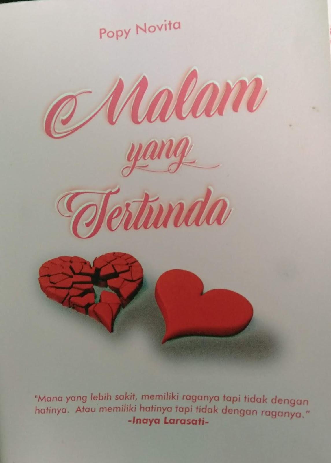 Cover Novel Malam Yang Tertunda