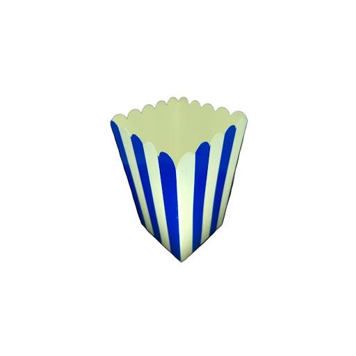 Cotufera Altolitho Azul Estampadas Circulos/Rayas 8Und