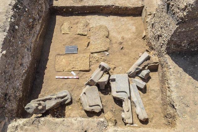 Os arqueólogos descobrem o antigo templo egípcio com dezenas de deusas de guerra chefiadas por leões 02