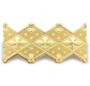 Личка-зубчатка НГУ Знак категорії офіцерів вищого складу метал