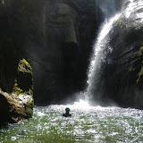 Canyoning dans le Haut Jura