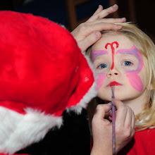 Santa's visit.