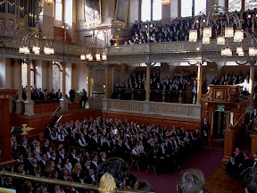 Matriculation at the Sheldonian Theatre