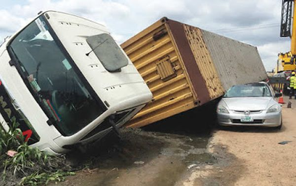 Truck Driver Loses Control, Crushes Married Woman To Death