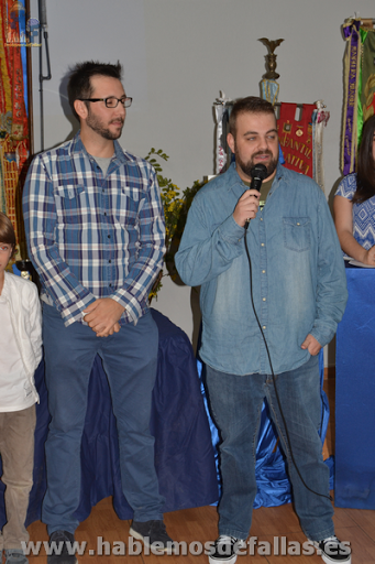 Víctor Navarro y Raúl Martínez ''Chuky'' presentan sus fallas solidarias en Bailen–Játiva