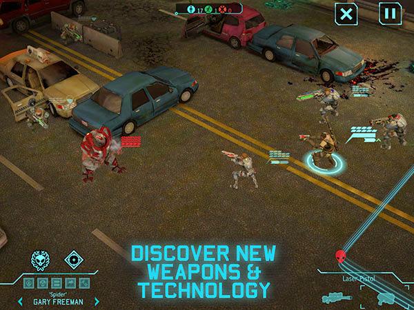 XCOM: Enemy Unknown mang đẳng cấp console lên iOS 3