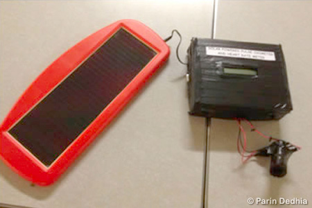 Solar Powered Pulse Oxymeter