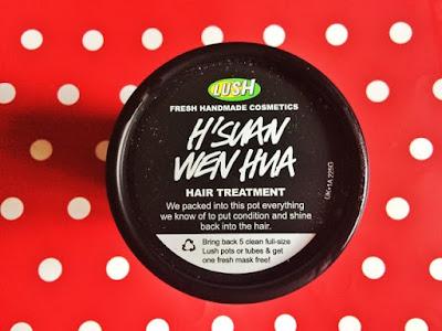 H'SUAN WEN HUA hair treatment from Lush