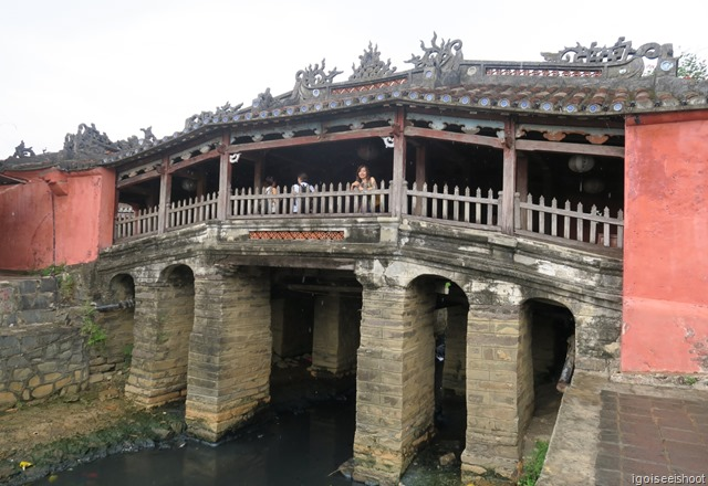 The Japanese Covered Bridge is a unique and beloved symbol of Hoi An.