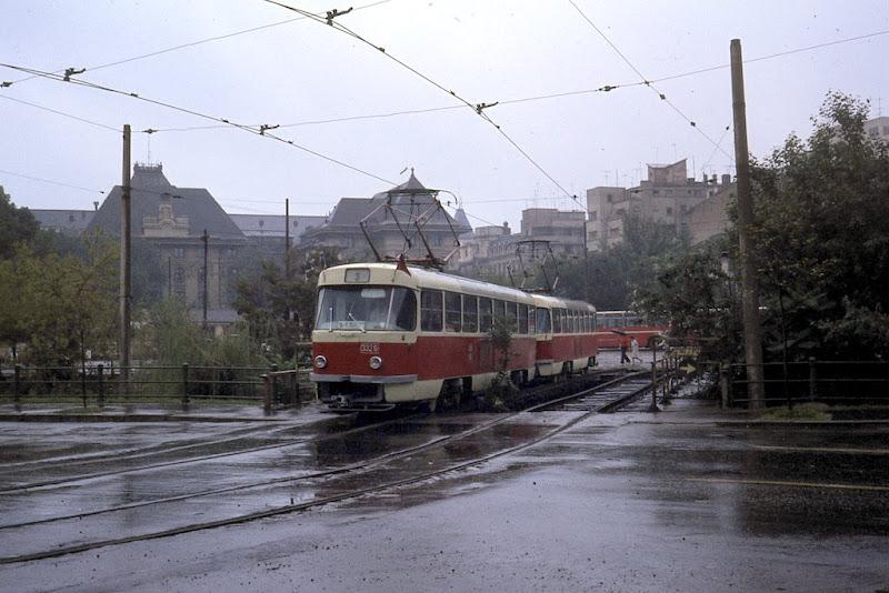 Tatra T3S in Bucharest