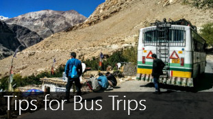 Busing it on the road - Tips and Must Packs