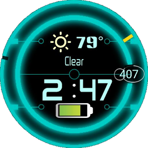 Glowing Disc for Watchmaker.apk 2.5