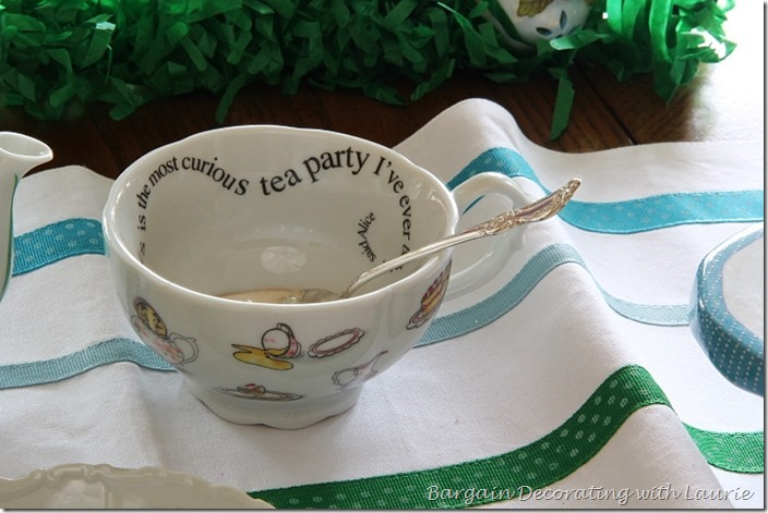 Springtime Tea Party-Bargain Decorating with Laurie