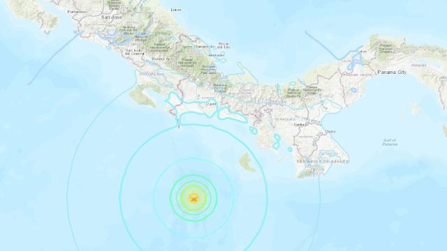 Sismo de magnitud 6,1 sacude el sur de Panamá