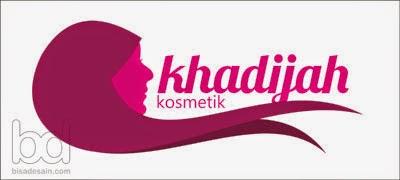 Desain Logo Khadijah Kosmetik