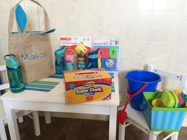Easter gift ideas for toddlers- Attempting quality over quantity.