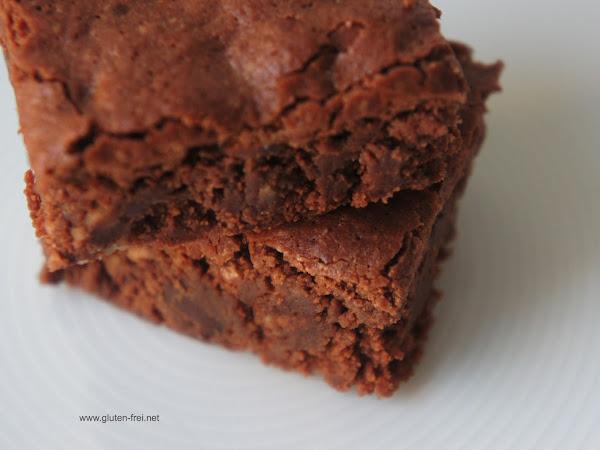 REZEPT: glutenfreie Schokoladenbrownies