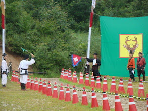 Photo: Der Wettkampf im Single-Shot beginnt