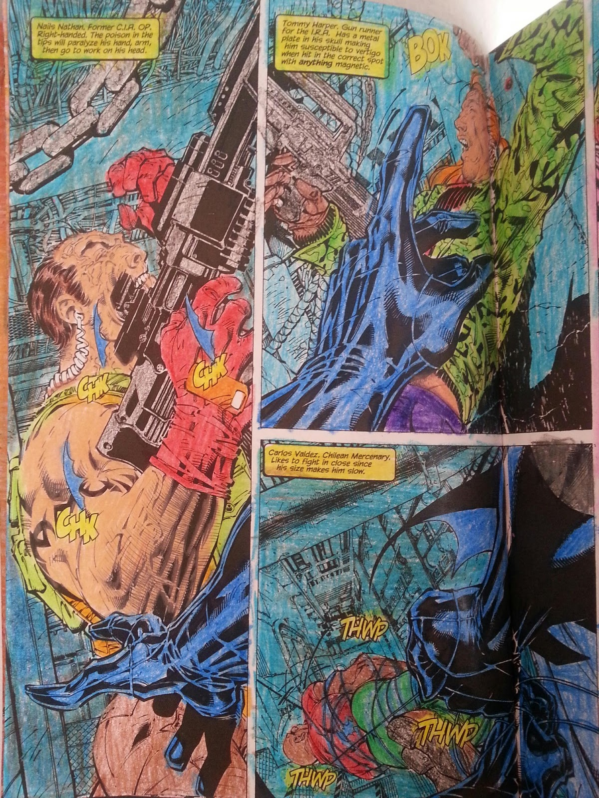 Comic Book Rehab Art Therapy Batman Hush Coloring Part 8 AND 9 Of 104