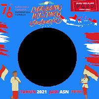 Twibbon Dirgahayu  Dan HUT Ke-76 Kemerdekaan RI  Dari Guru Belajar P3K PGSD