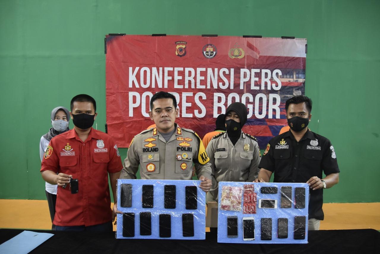 Sat Reskrim Polres Bogor Polda Jabar Berhasil Ungkap Perdagangan Anak di Bawah Umur
