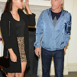 WWW.ENTSIMAGES.COM -    Leah Weller and Paul Weller   arriving at    Real Stars Are Rare - launch party at Somerset House, Strand, London October 8th 2014Paul Weller launch  his 2014 menswear collection at 101 London, a space within Somerset House.                                                     Photo Mobis Photos/OIC 0203 174 1069
