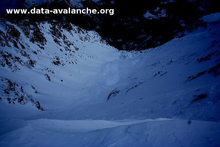 Avalanche Vanoise, secteur Aiguille Rouge, Combe des Lanchettes - Photo 1