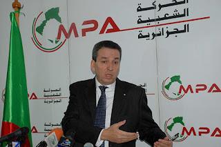 Benyounès :« Mazafran 2, une incitation à un coup d'Etat»