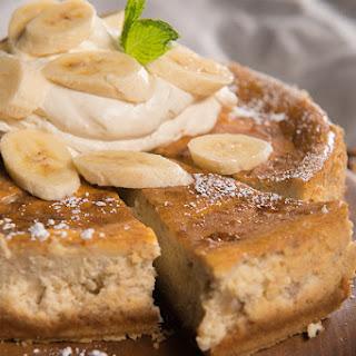 Smoked Banana Cream Cheesecake