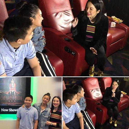 Kris Aquino hosts The Ghost Bride block screening