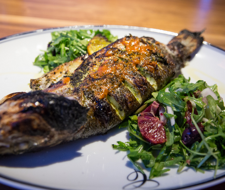 photo of Whole Roasted Branzino