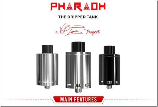 digiflavor pharaoh the dripper tank title%25255B6%25255D - 【RDA】王者の貫禄!「Digiflavor Pharaohドリッパータンク」レビュー!組めないコイルなしドデカデッキ【爆煙エジプト王国】