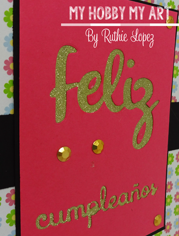 Latina Crafter, Latinas Arts and Craft, Blog Hop de Primavera, Ruthie Lopez 4