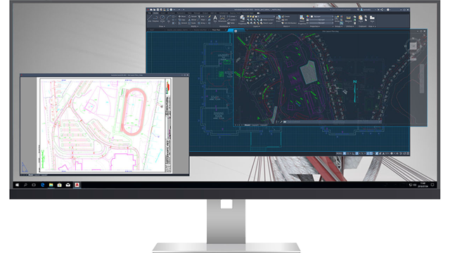 Ventanas de dibujo flotantes en Autocad 2022