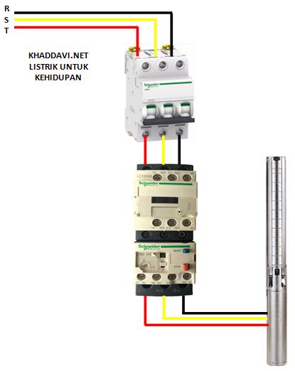 Cara membuat panel kontrol (control box) pompa sumur bor (Submersible)