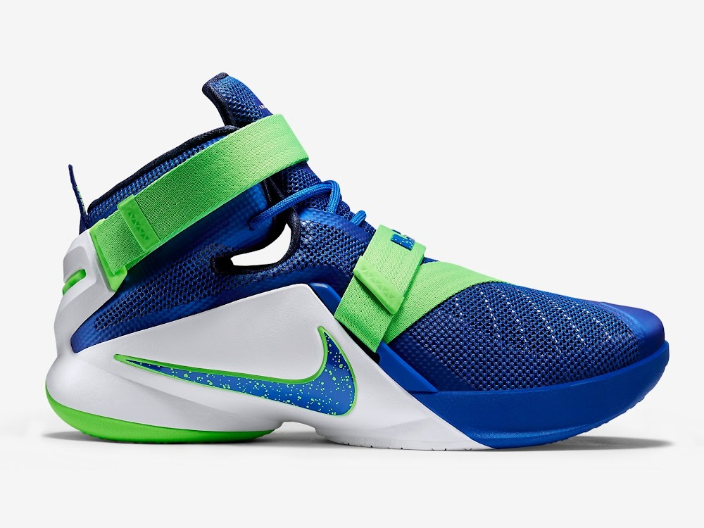 wholesale dealer c8492 26dfc ... Nike LeBron Soldier 9 Launches on July 3rd Including the Sprite ...