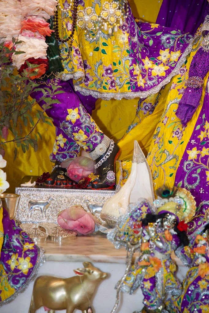 ISKCON New Govardhana Deity Darshan 22 Dec 2016 (55)
