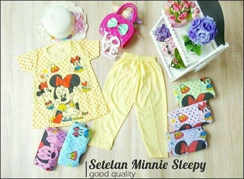 Setelan Minnie Sleepy