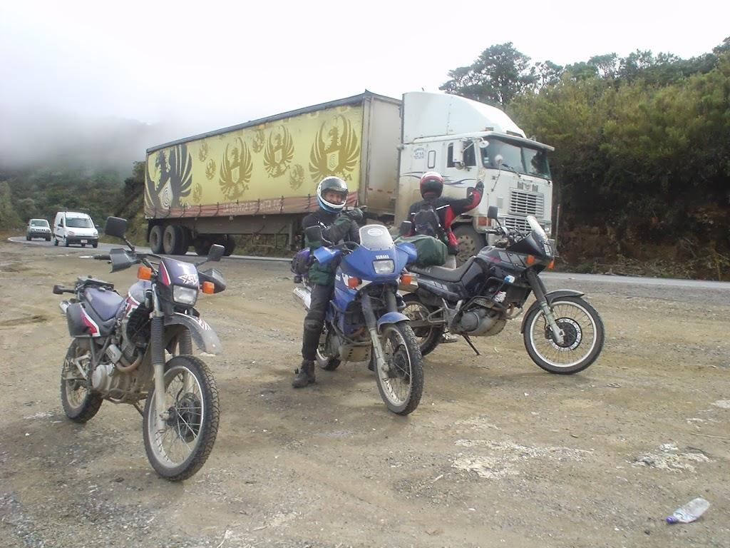 Bier Transporter auf der Panamericana