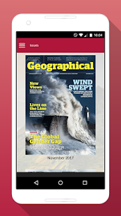 Geographical Magazine- screenshot thumbnail