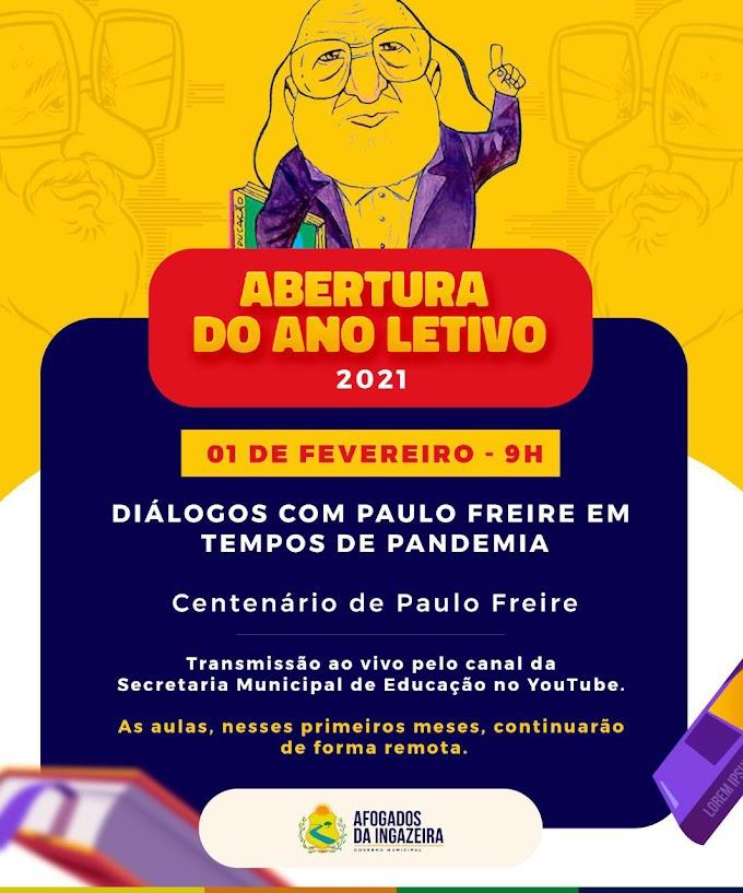 PREFEITURA DE AFOGADOS PROMOVE ABERTURA DO ANO LETIVO NESTA SEGUNDA (01)