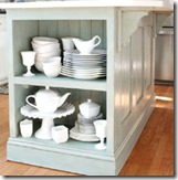 kitchen island -ASCP Duck Egg