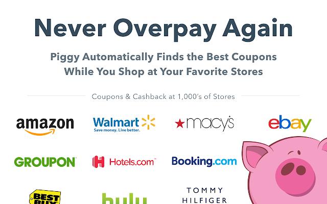 piggy automatic coupons cash back